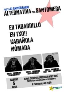 cartel concierto 3aniversario