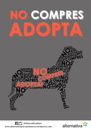 no compres adopta